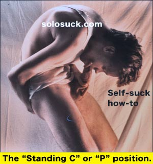 "the ""standing c"" or ""p"" position"